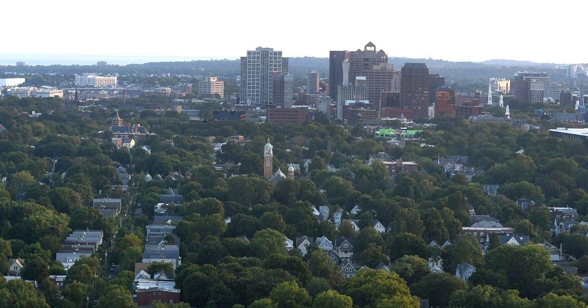 New Haven, CT skyline